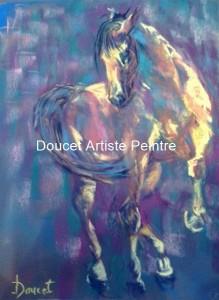 Attitude 12 x 16 encadré, Prix créativité Société des Pastellistes de l'est du Canada, Charlevois 2015