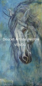 Cheval blues (vendu)