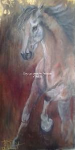 Cheval d'Or 24 x 48 (vendu)