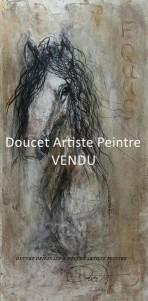  VENDU  Equus 36x24